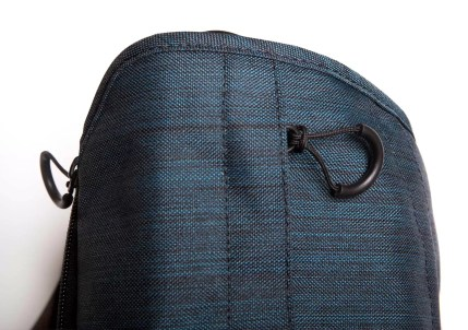 The zipper loops are large and easy to grasp.