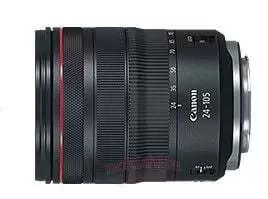 Leaked photo of Canon RF 24-105 f/4 IS USM lens