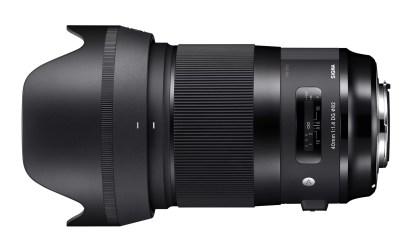 sigma-40mm-f1.4-art-lens-with-hood-left-side