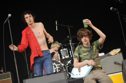 Fat White Family בהופעה בצרפת