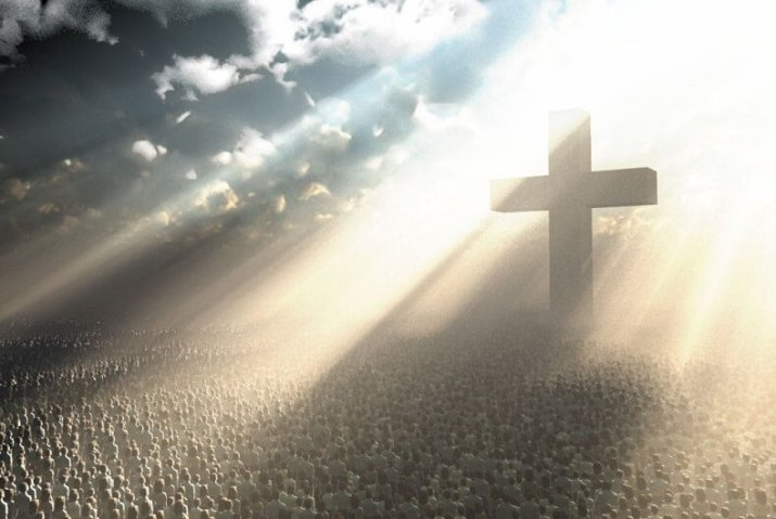 يسوع على الصليب قد هدم جدار العداوة وحمل المصالحة والسلام