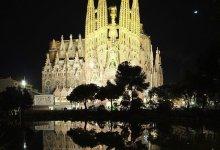 Pictures pour La Sagrada Familia, la Grande Église d'Espagne en Europe
