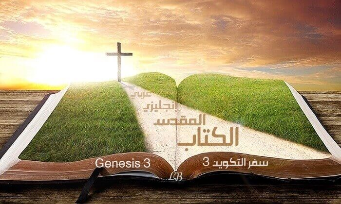 Genesis 3 – In English and Arabic with Audio to Read and Listen (KJV)