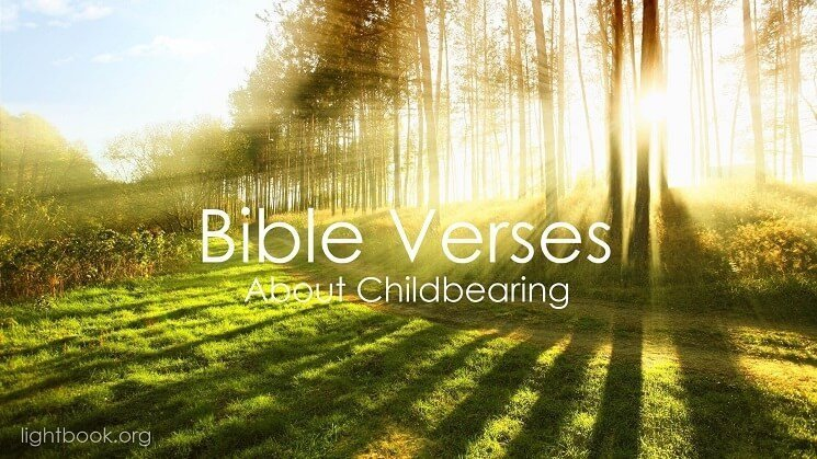 Bible Verses about Childbearing ( 2 ) in English and Arabic