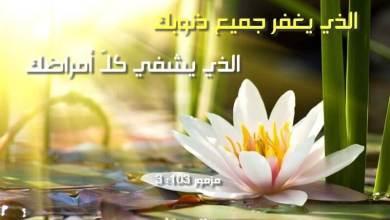 Photo of آيات عن الشفاء Healing من الكتاب المقدس عربي إنجليزي