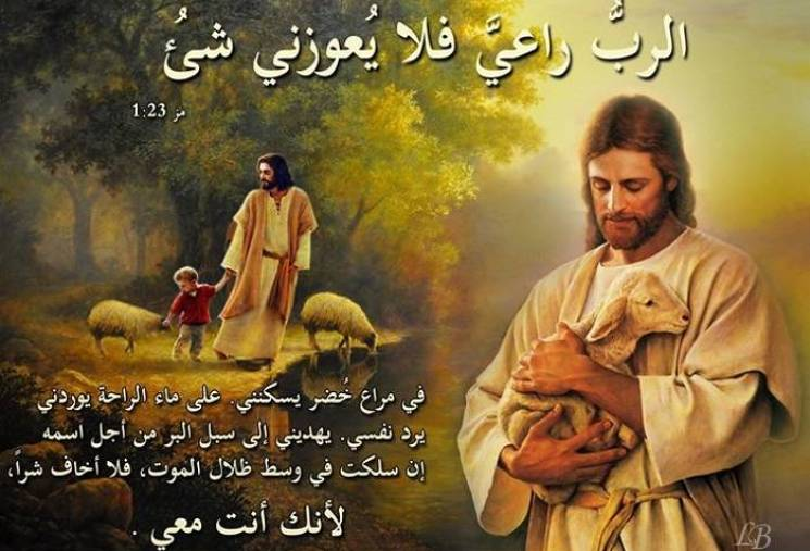 Bible Verses about Supply in English and Arabic