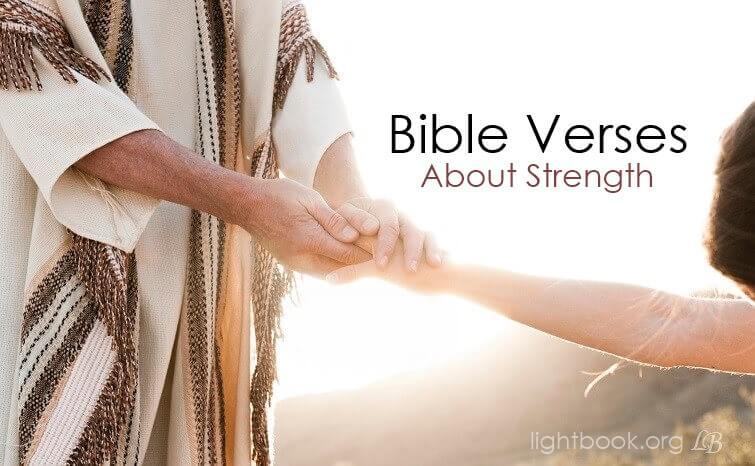 Bible Verses aboutStrength ( 2 ) in English and Arabic