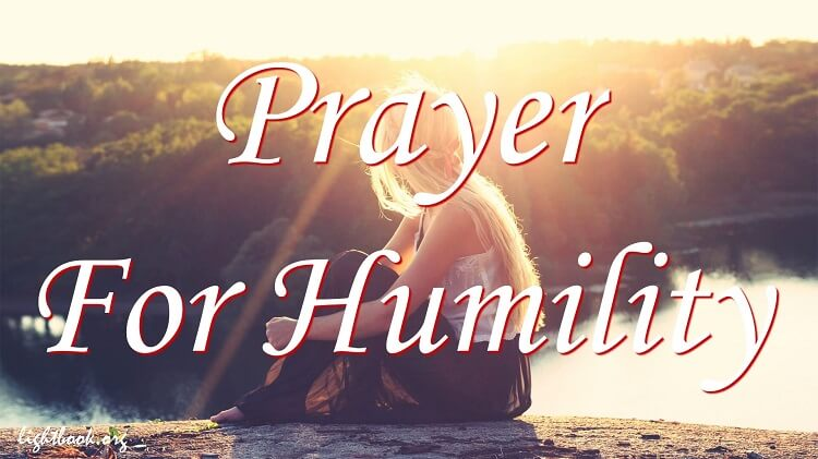 Image result for Humility through prayer