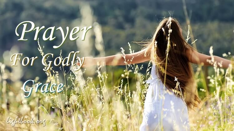 Prayer for God's Grace in My Life