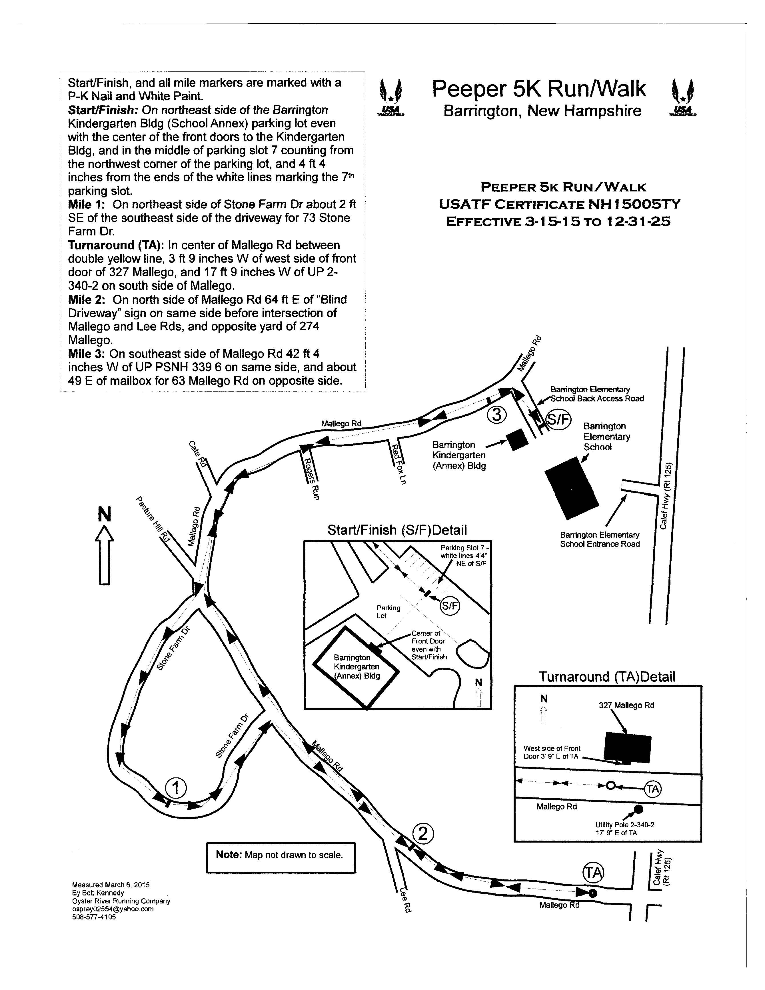 24th Annual Peeper 5K Run/Walk