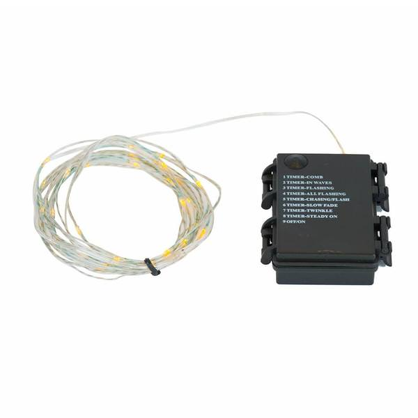 Battery Operated Led String Lights Timer