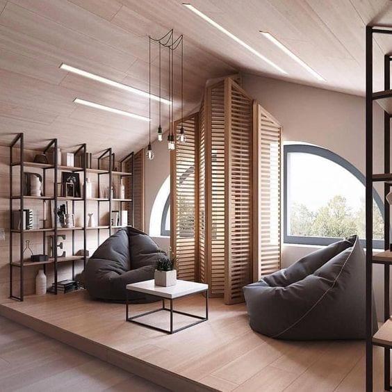 how to illuminate the attic lid design