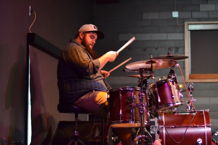 Mickey Holm, Owner of STRT TRBL and drummer