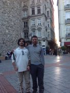 Bosforo - My friend from Chile Jorge Aguayo and me - 4