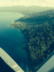 Gizo to Poporang by seaplane - 2
