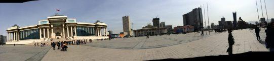 Ulan Bator - 2 - Edificio del Parlamento della Mongolia - Wide Angle