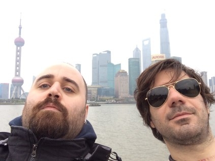 Italian people in Shanghai - 1 - Tommaso and me