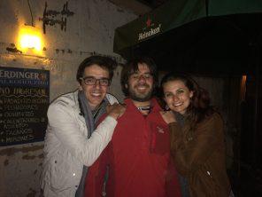 San Pedro de Atacama - 4 - Marcelo, me & Camila