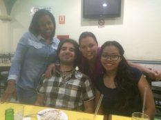 Caracas - 8 - Joalis, me, Mariana & Yoandra