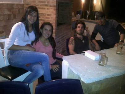 San Cristobal – 7 – Alix, Daymar, me & Oscar