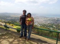 Trinidad and Tobago - 5 - Port of Spain - Me & Susan