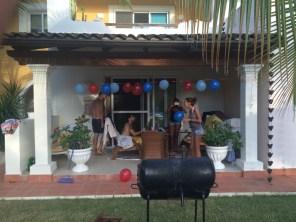Santo Domingo - 6 - Michele, me, Dayana & Karolina