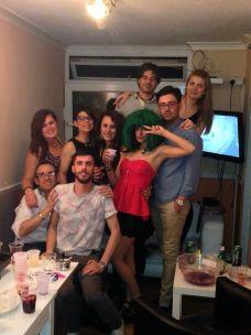 Londra - 5 - Mikel, Andrea, Jessica, Samanta, Alissa, Karina, Domenico, Eleonora & me