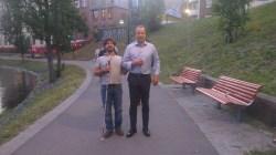 Oslo - 2 - Me & Arne