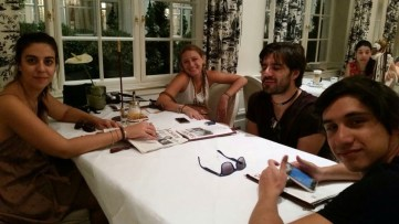 Vienna - 2 - Julia, Isabella, me & Felipe
