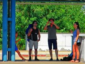 Nogara - 2 - Lorenzo, me, Enrico & Sara