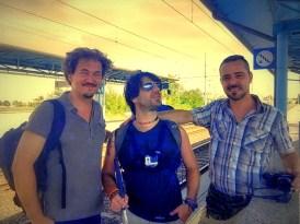 Nogara - 3 - Enrico, me & Stefano