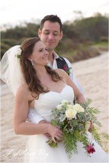 Tallow Beach Wedding - Lighthouse Bay