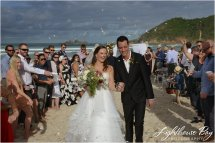 Tallow Beach Wedding - Lighthouse Bay