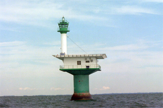 Pelee Passage New Lighthouse Ontario Canada At