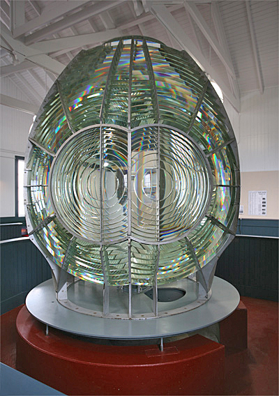 Point Arena Lighthouse California at Lighthousefriendscom