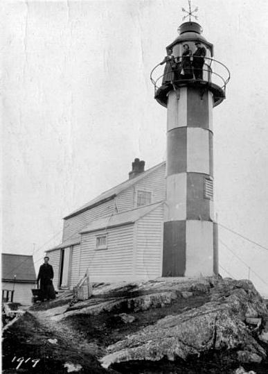 Random Head Lighthouse Newfoundland Canada at