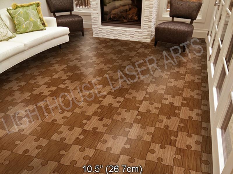 Puzzle Floor  Hardwood Puzzle Floor