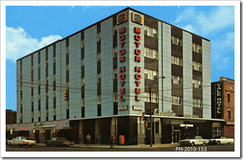 The Executive Motor Hotel in Saskatoon during the late 1960s