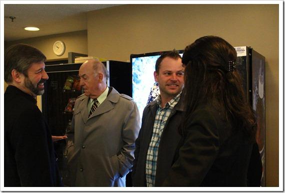 Don Windels, Jason Moore, and DeeAnn Mercier