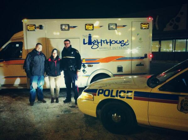 Ride along with Julia and Tommy on the Lighthouse Mobile Outreach