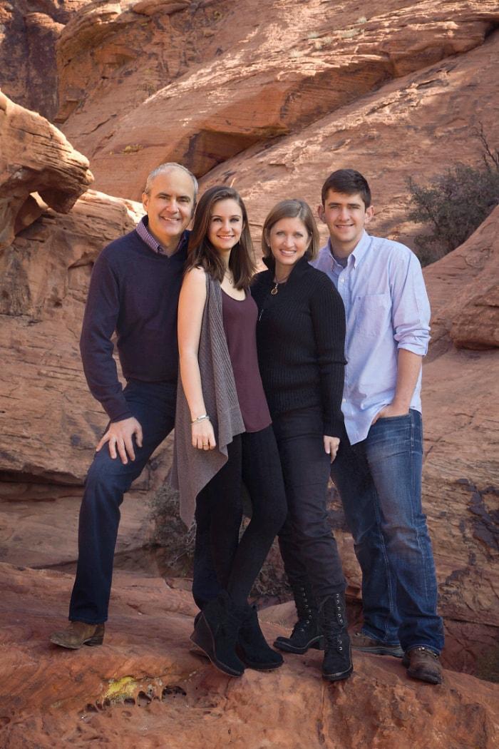 family outdoor photography las vegas