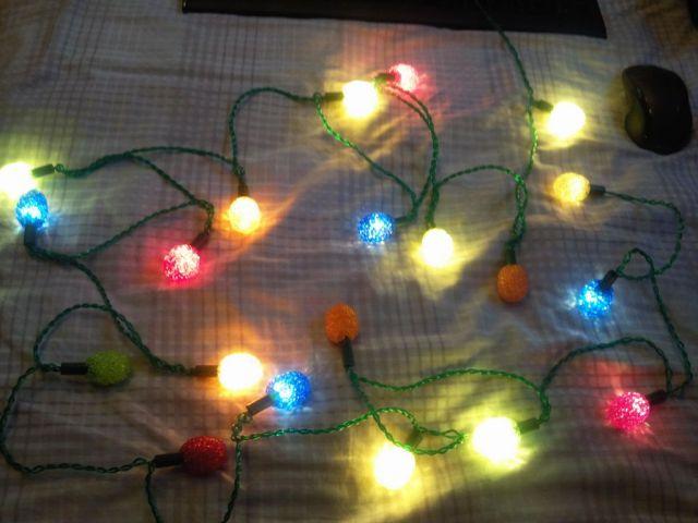 old pifco 60s 70s christmas lights