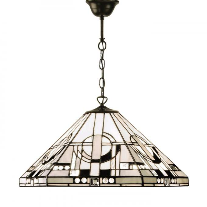 Black and white tiffany ceiling light americanwarmoms art deco tiffany ceiling pendant light with black and white glass shade aloadofball Image collections