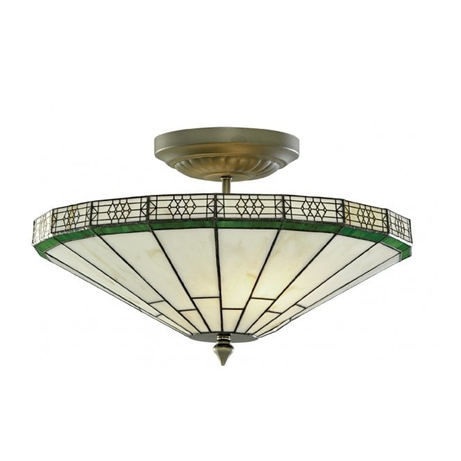 new york tiffany uplighter for low ceilings