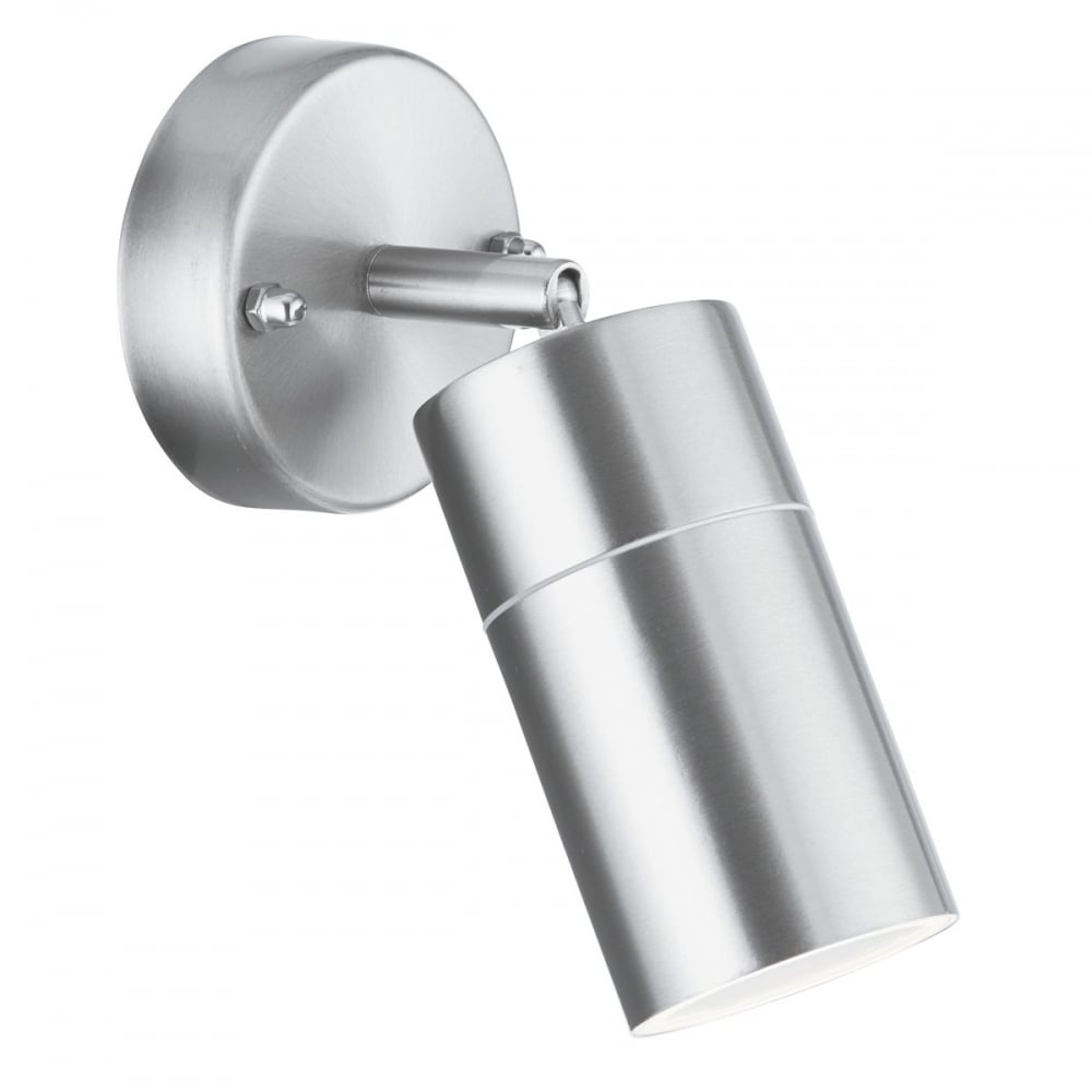outdoor stainless steel directional single wall light