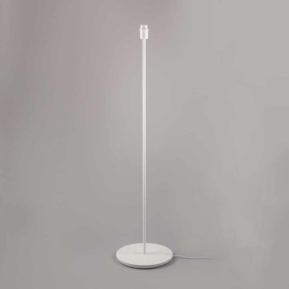 Contemporary Gloss Pantone Brilliant White Floor Lamp Base