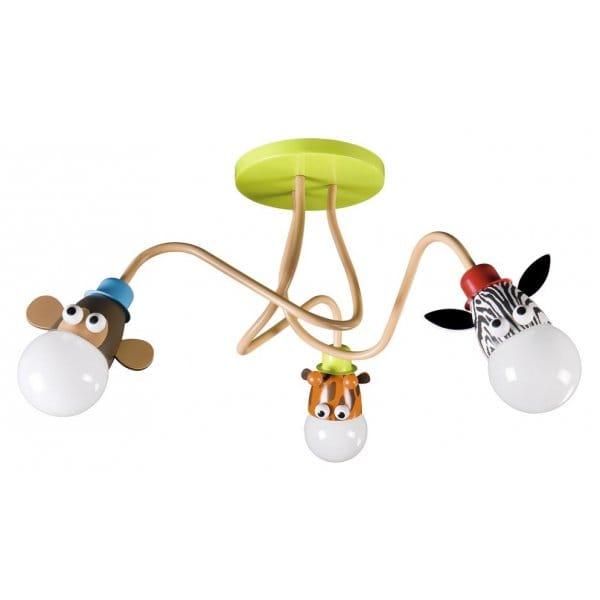 Animal Themed Ceiling Light, Ideal 4 Kids Bedroom Lighting