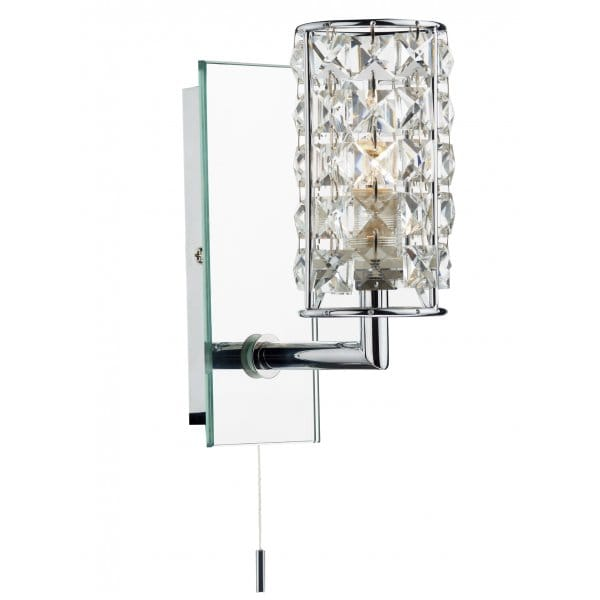 Modern Bathroom Wall Light, IP44 Rated, Double Insulated