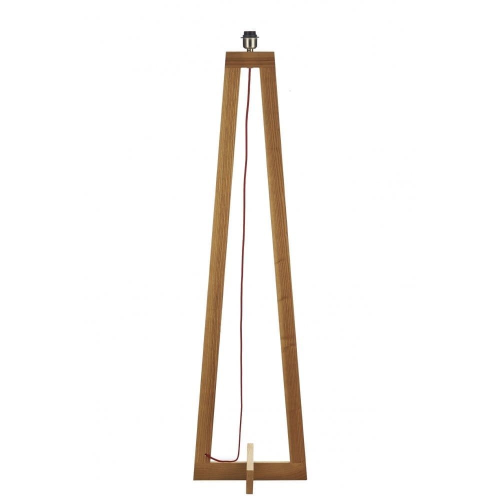 Contemporary Wooden Floor Lamp Base