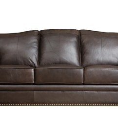 Abbyson Living Belmont Leather Sofa 5 In 1 Bed Naaptol Brown Sofas Usa